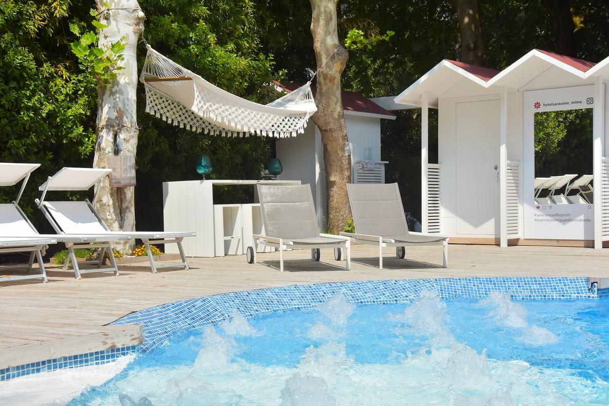 Hotel milano marittima 4 stelle con piscina riscaldata - Hotel con piscina milano ...